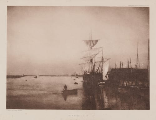 Evening Calm Job, Charles  (British, 1840-1922)