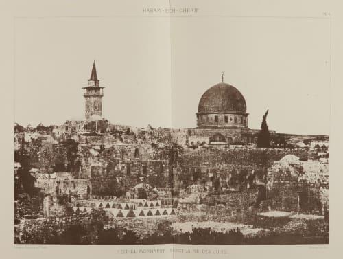 Heit-el-Morharby, Sanctuaire des Juifs Salzmann, Auguste  (French, 1824-1872)