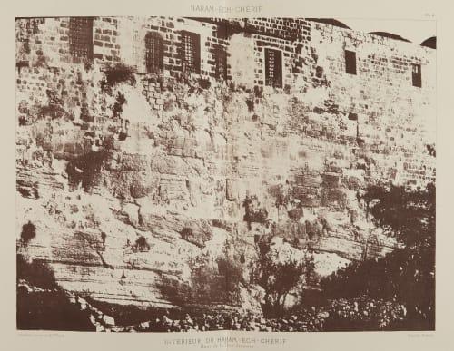 Interieur du Haram-Ech-Cherif Salzmann, Auguste  (French, 1824-1872)