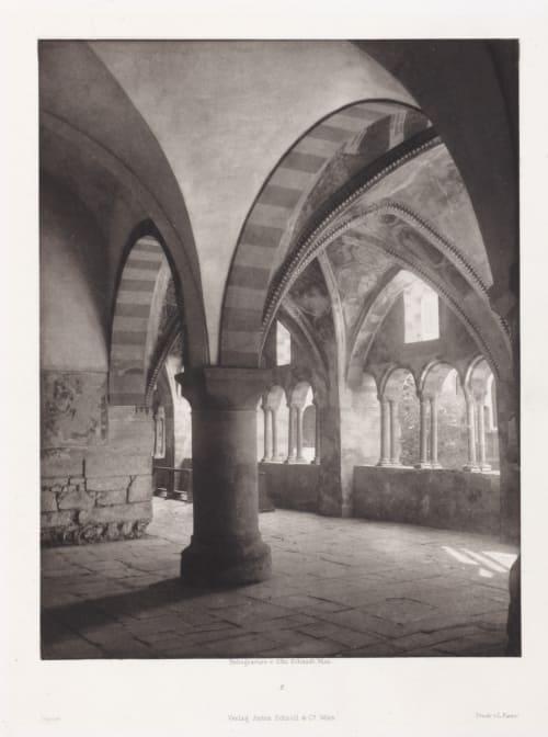Erste Abtheilung: Malerische Innenraume no. 2 Schmidt, Otto  (Austrian, 1849-1920)