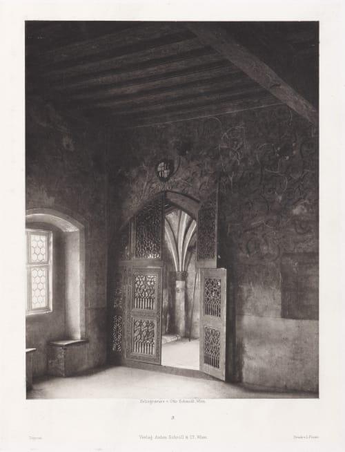 Erste Abtheilung: Malerische Innenraume no. 3 Schmidt, Otto  (Austrian, 1849-1920)