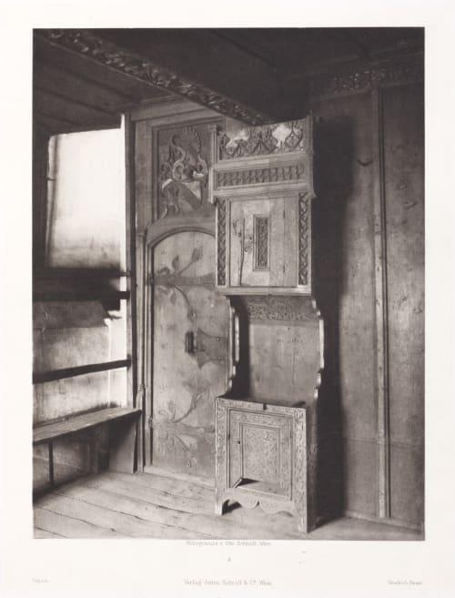 Erste Abtheilung: Malerische Innenraume no. 4 Schmidt, Otto  (Austrian, 1849-1920)