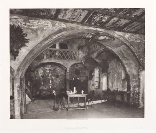 Erste Abtheilung: Malerische Innenraume no. 7 Schmidt, Otto  (Austrian, 1849-1920)