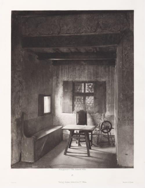 Erste Abtheilung: Malerische Innenraume no. 11 Schmidt, Otto  (Austrian, 1849-1920)