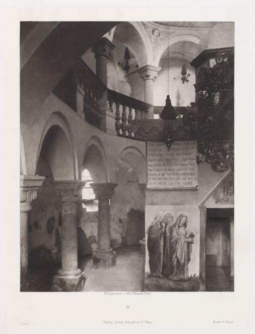 Erste Abtheilung: Malerische Innenraume no. 14 Schmidt, Otto  (Austrian, 1849-1920)