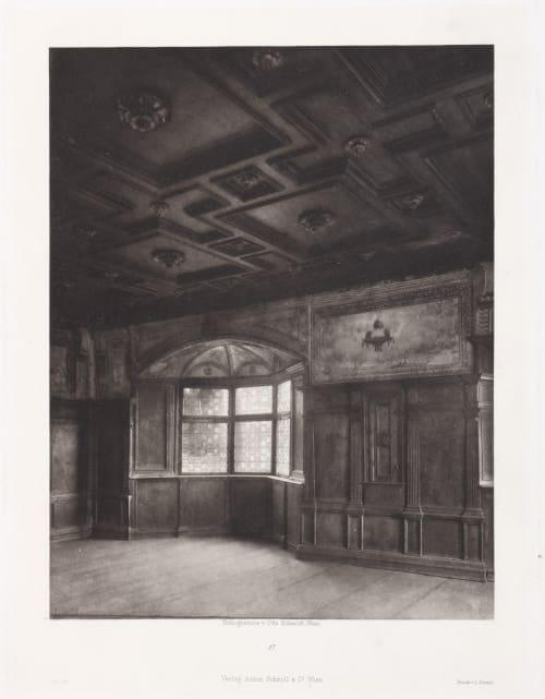 Erste Abtheilung: Malerische Innenraume no. 17 Schmidt, Otto  (Austrian, 1849-1920)