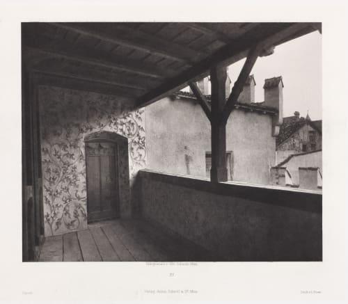 Erste Abtheilung: Malerische Innenraume no. 21 Schmidt, Otto  (Austrian, 1849-1920)