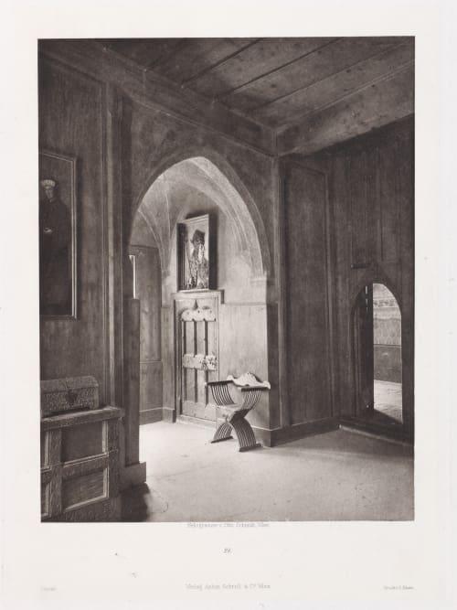 Erste Abtheilung: Malerische Innenraume no. 26 Schmidt, Otto  (Austrian, 1849-1920)