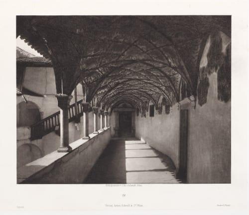 Erste Abtheilung: Malerische Innenraume no. 28 Schmidt, Otto  (Austrian, 1849-1920)