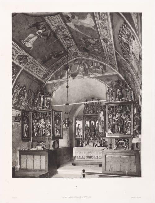 Malerei und Plastik no. 1 Schmidt, Otto  (Austrian, 1849-1920)