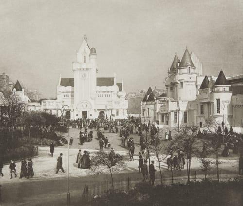 The Kelvin Hall and Fountain Court Annan, James Craig  (Scottish, 1864-1946)
