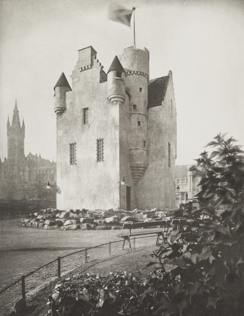 The Old Scottish Tower Annan, James Craig  (Scottish, 1864-1946)