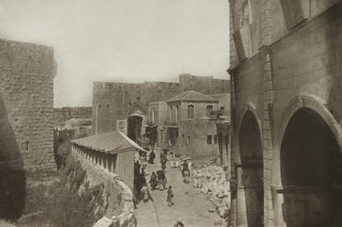 The Jaffa Gate, Jerusalem Shadbolt, Cecil  (British, 1859–1892)