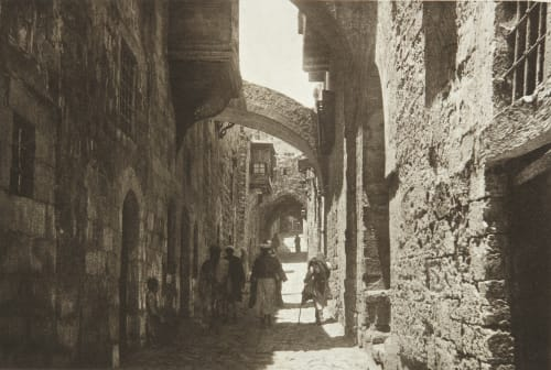 Via Dolorosa, Jerusalem Shadbolt, Cecil  (British, 1859–1892)