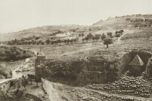 The Valley of Jehoshaphat and the Mount of Olives Shadbolt, Cecil  (British, 1859–1892)