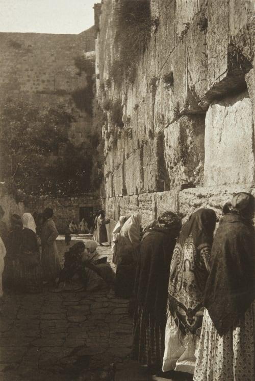 The Jews' Wailing-Place Shadbolt, Cecil  (British, 1859–1892)