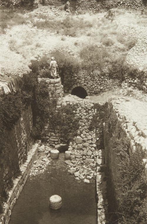 The Pool of Siloam Shadbolt, Cecil  (British, 1859–1892)