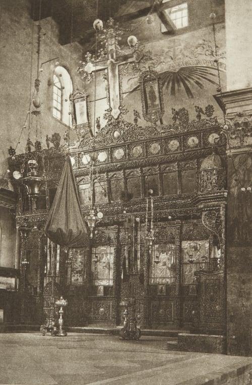 The Church of the Nativity at Bethlehem Shadbolt, Cecil  (British, 1859–1892)