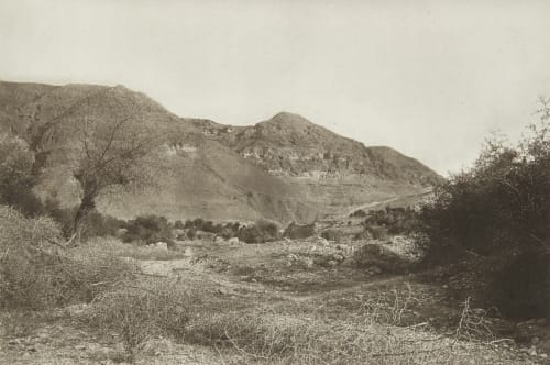 The Mount of Temptation near Jericho Shadbolt, Cecil  (British, 1859–1892)