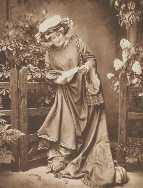 Mistress Page (Ellen Terry) Window & Grove  (English, 1872-1933 active)