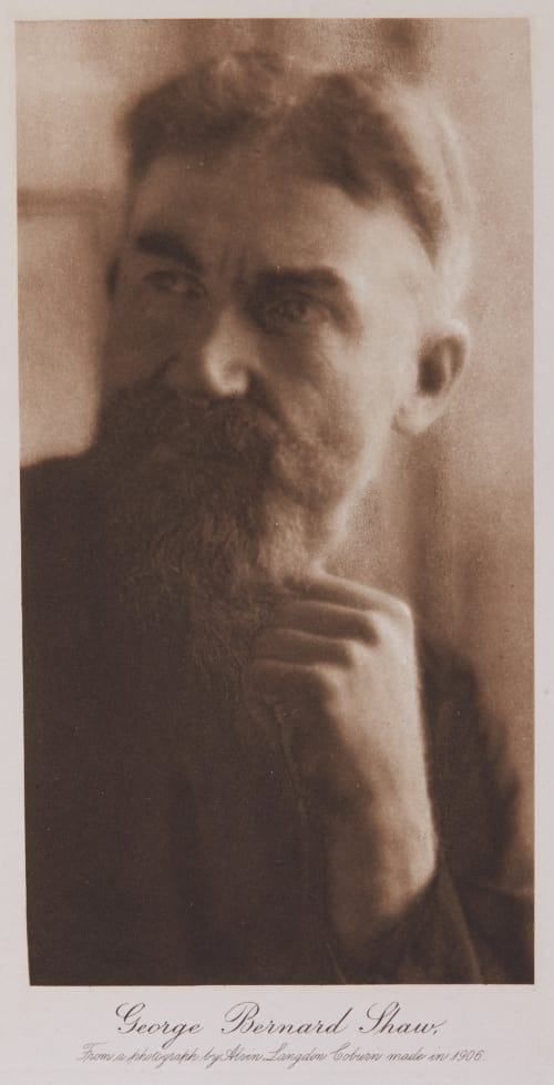 George Bernard Shaw Coburn, Alvin Langdon  (American, 1882-1966)