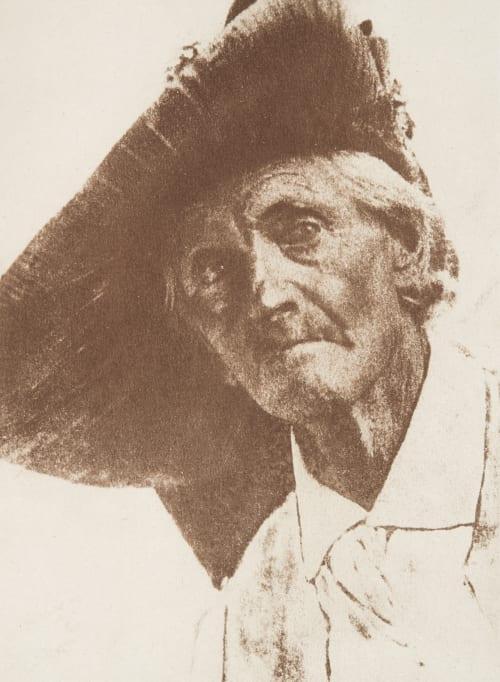 Tête de Vieillard Kuehn, Heinrich  (Austrian-German, 1866-1944)
