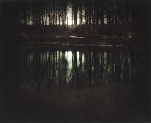 Moonrise, Mamaroneck Steichen, Edward  (American, 1879-1973)