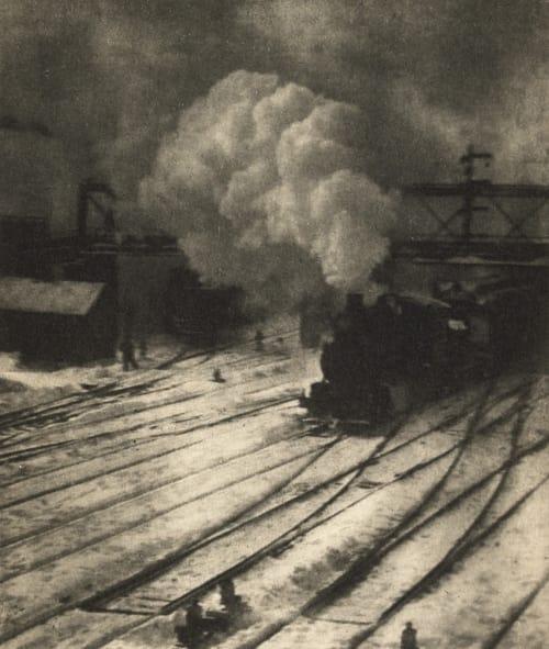 New York Central Yard Stieglitz, Alfred  (American, 1864-1946)