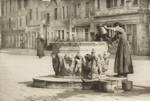 A Venetian Well Stieglitz, Alfred  (American, 1864-1946)