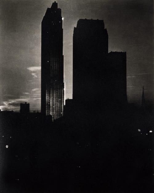 New York Sereies (Nighttime) Stieglitz, Alfred  (American, 1864-1946)