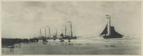 Landing of the Boats Stieglitz, Alfred  (American, 1864-1946)