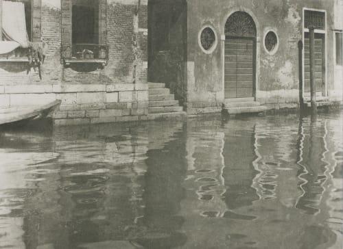 Reflections – Venice Stieglitz, Alfred  (American, 1864-1946)