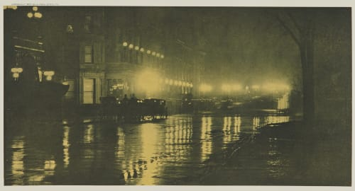 The Glow of Night, New York Stieglitz, Alfred  (American, 1864-1946)