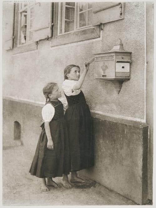The Letter Box Stieglitz, Alfred  (American, 1864-1946)