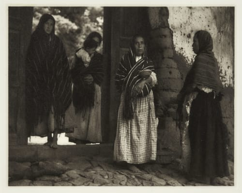 Women of Santa Anna – Michoacan Strand, Paul  (American, 1890-1976)