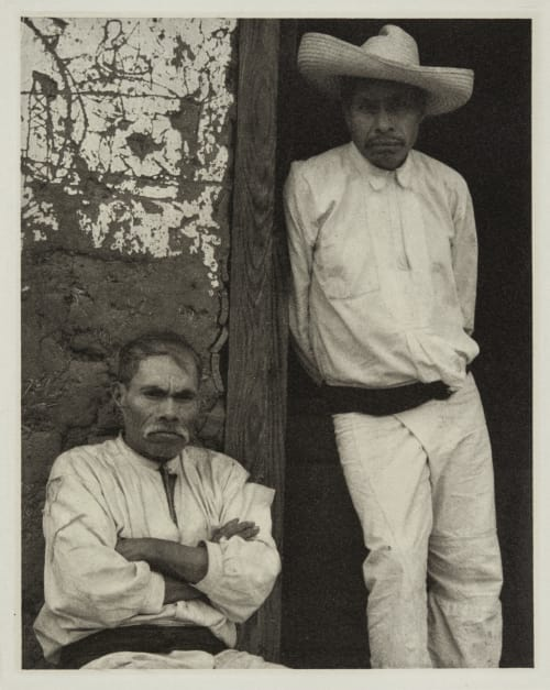 Portrait of Two Men, Mexico Strand, Paul  (American, 1890-1976)