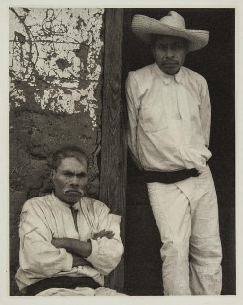 Men of Santa Anna, Michoacan Strand, Paul  (American, 1890-1976)