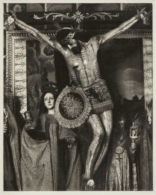 Cristo – Oaxaca Strand, Paul  (American, 1890-1976)