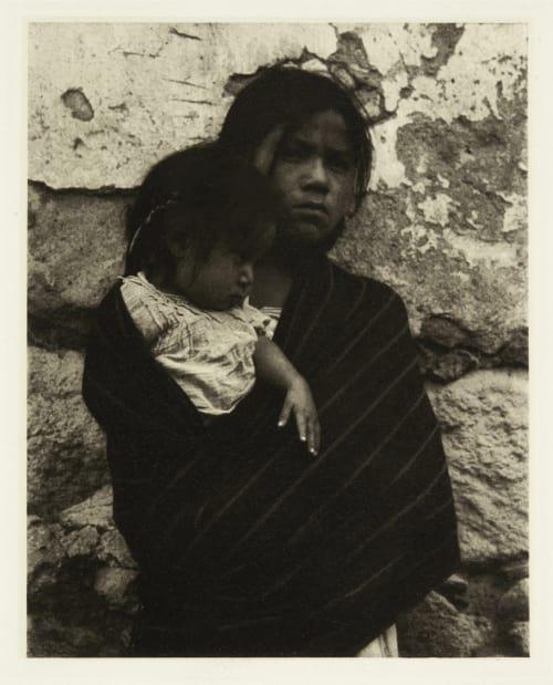 Girl and Child – Toluca Strand, Paul  (American, 1890-1976)