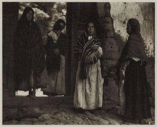 Women of Santa Anna – Michoacan Strand, Paul  (American, 1890-1976)