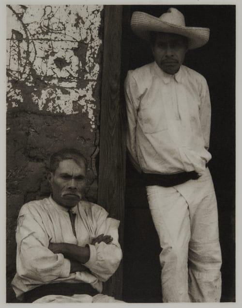 Portrait of Two Men, Mexico Strand, Paul  (American, 1890-1976)
