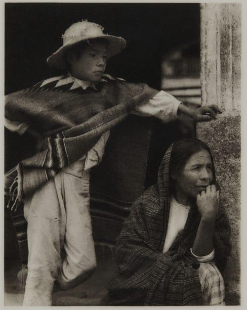 Woman and Boy – Tenacingo Strand, Paul  (American, 1890-1976)