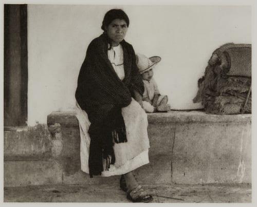 Woman and Baby – Hidalgo Strand, Paul  (American, 1890-1976)