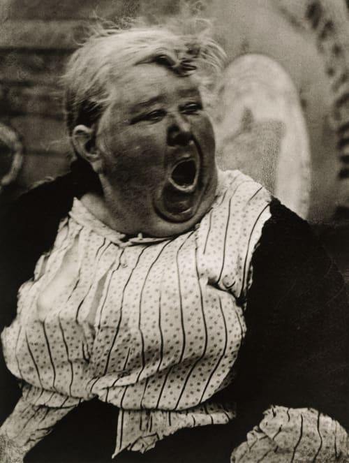 Yawning Woman Strand, Paul  (American, 1890-1976)