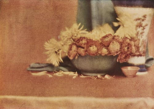 Still Life from an Autochrome de Meyer, Baron Adolf  (American, 1868-1946)