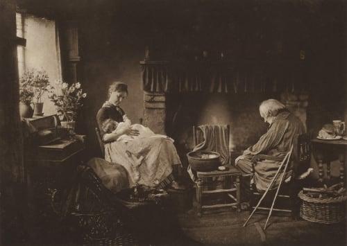 Dawn and Sunset Robinson, Henry Peach  (British, 1830-1901)