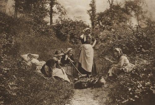A Merry Tale Robinson, Henry Peach  (British, 1830-1901)