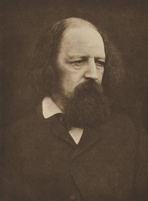 Lord Tennyson (6th August 1809 – 6th October 1892) Cameron, Julia Margaret  (British, 1815-1879)