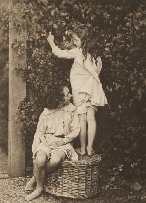 The Summer Garden Myers, Eveleen  (British, 1856-1937)