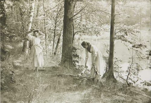 Fagot Gatherers Farnsworth, Emma J.  (American, 1860-1952)